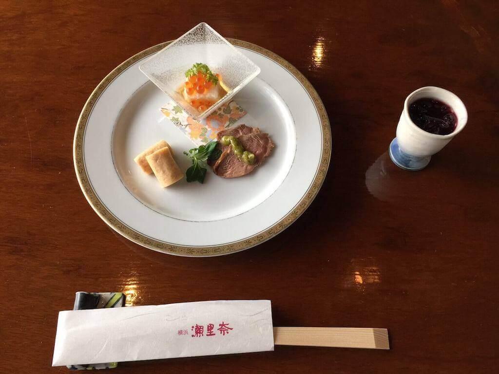 瀬里奈レストランの前菜