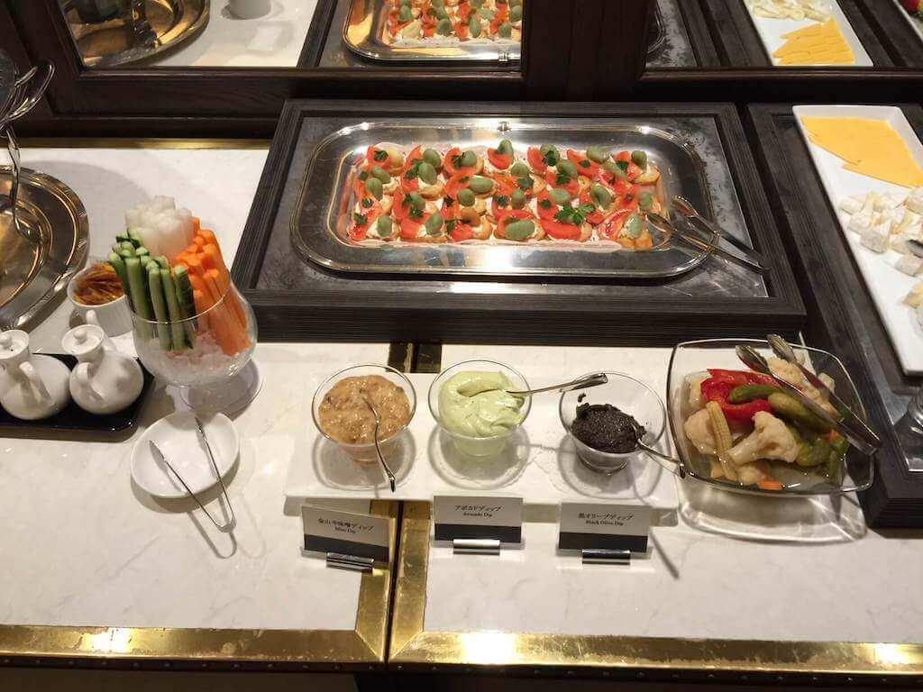 インターコンチネンタル横浜の野菜ビュッフェ