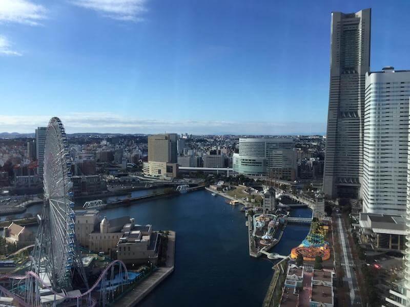 インターコンチネンタルホテル横浜の風景