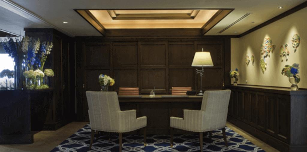 インターコンチネンタルホテル28階のクラブインターコンチネンタルラウンジ