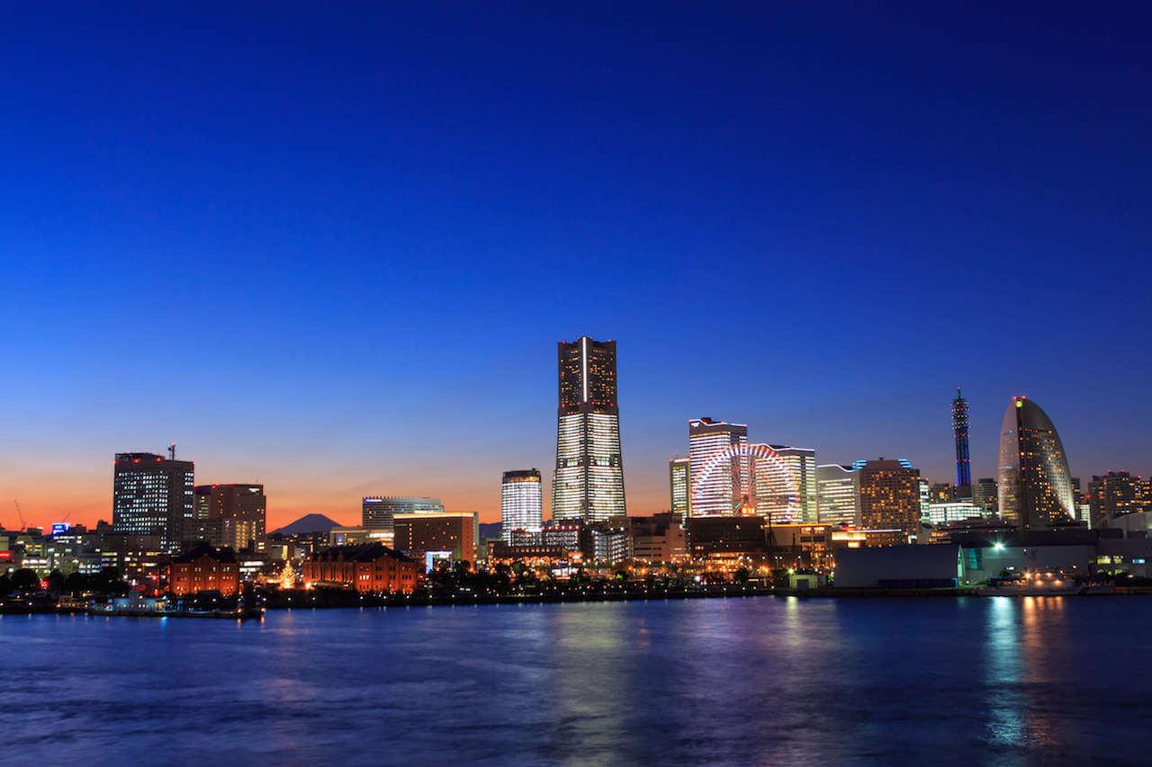 横浜全体が見える絶好スポット
