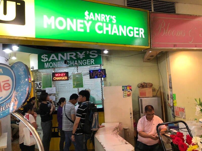 グリーンベルト1のSANRY'S MONEY CHANGER