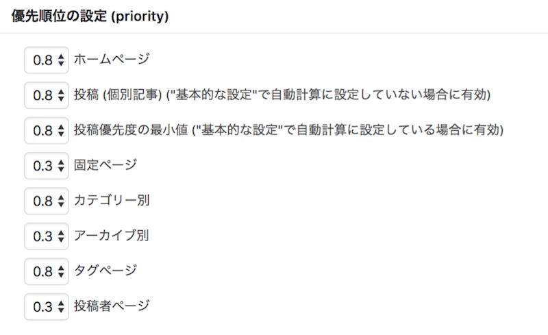 Google XML Sitemaps設定手順9
